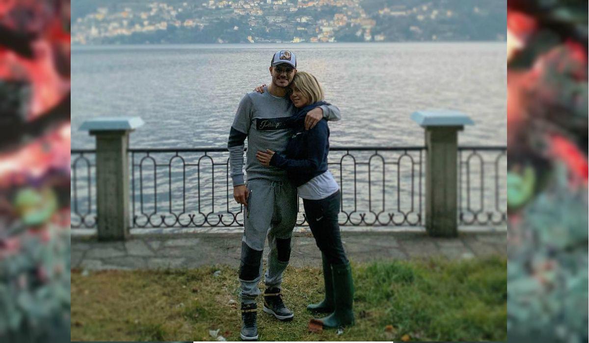 Icardi y Wanda en el lago de Como