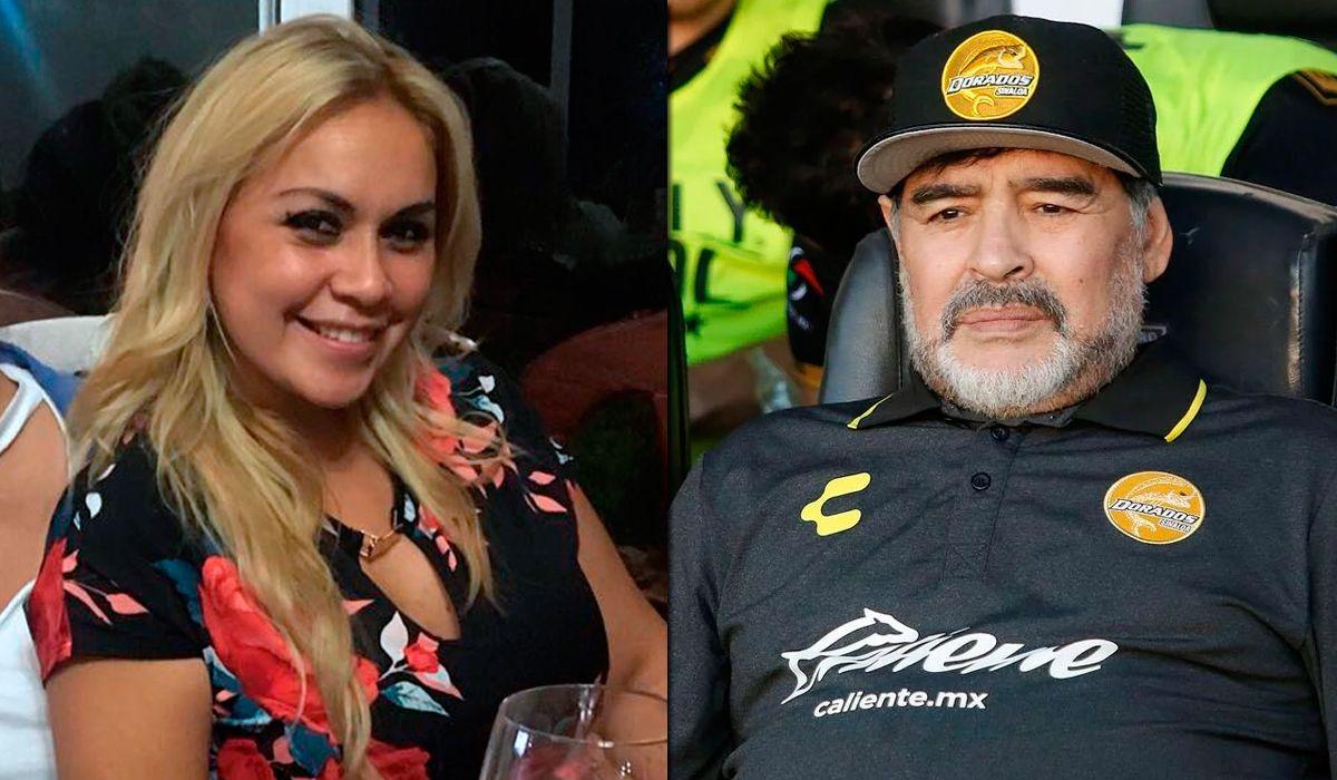 Verónica Ojeda, separada de Diego Maradona