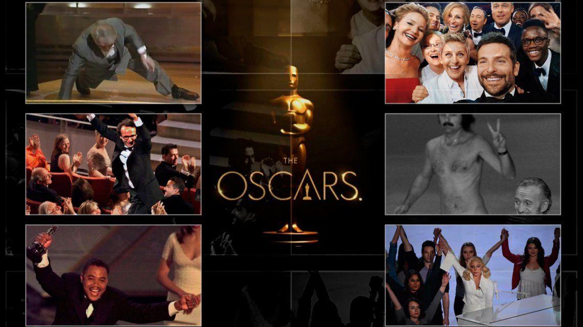 Los momentos inolvidables de los Oscar