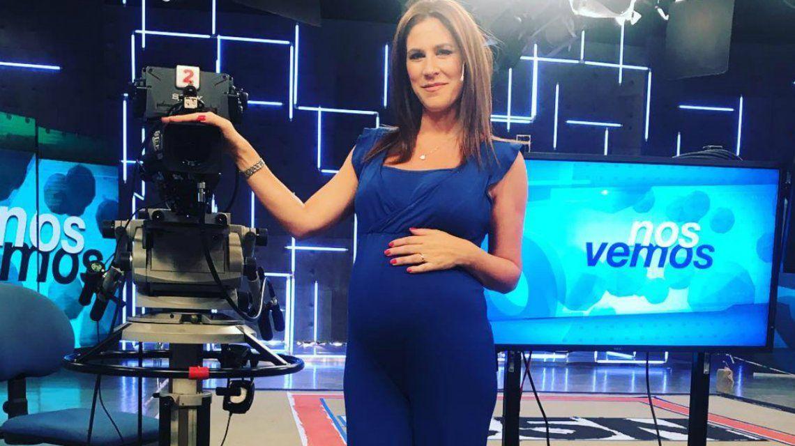 La tierna foto de Daniela Ballester con su pancita de seis meses de embarazo