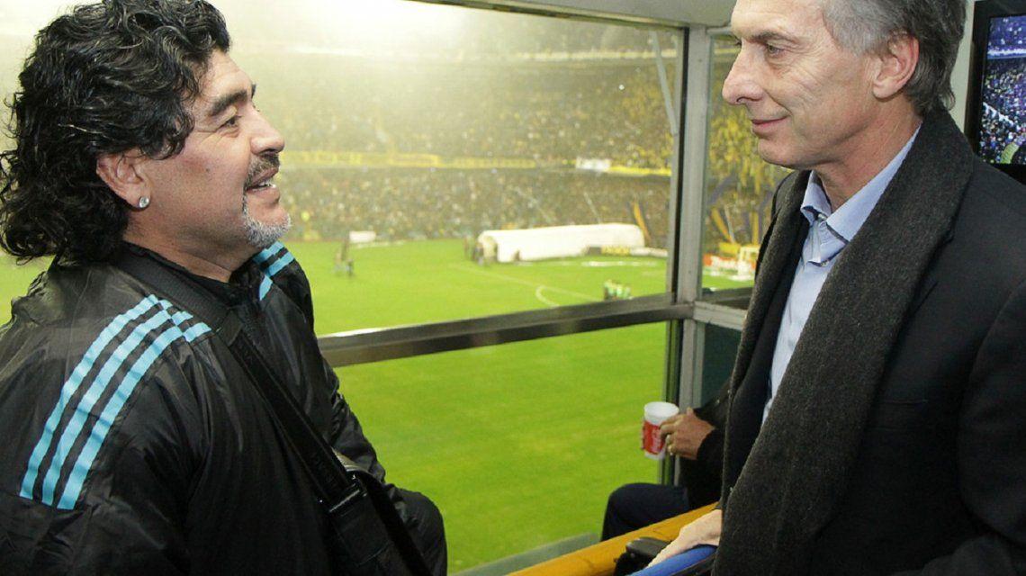 Maradona y el discurso de Macri: ¿Por qué no le tirás un centro a los argentinos, Mauricio?