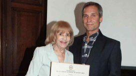 Beatriz Taibo junto a su hijo Raúl, también actor