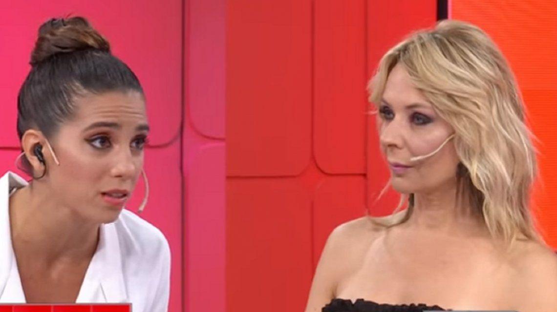 Tremenda pelea entre Cinthia Fernández y Evelyn Von Brocke: Pésima compañera, no te quiere nadie