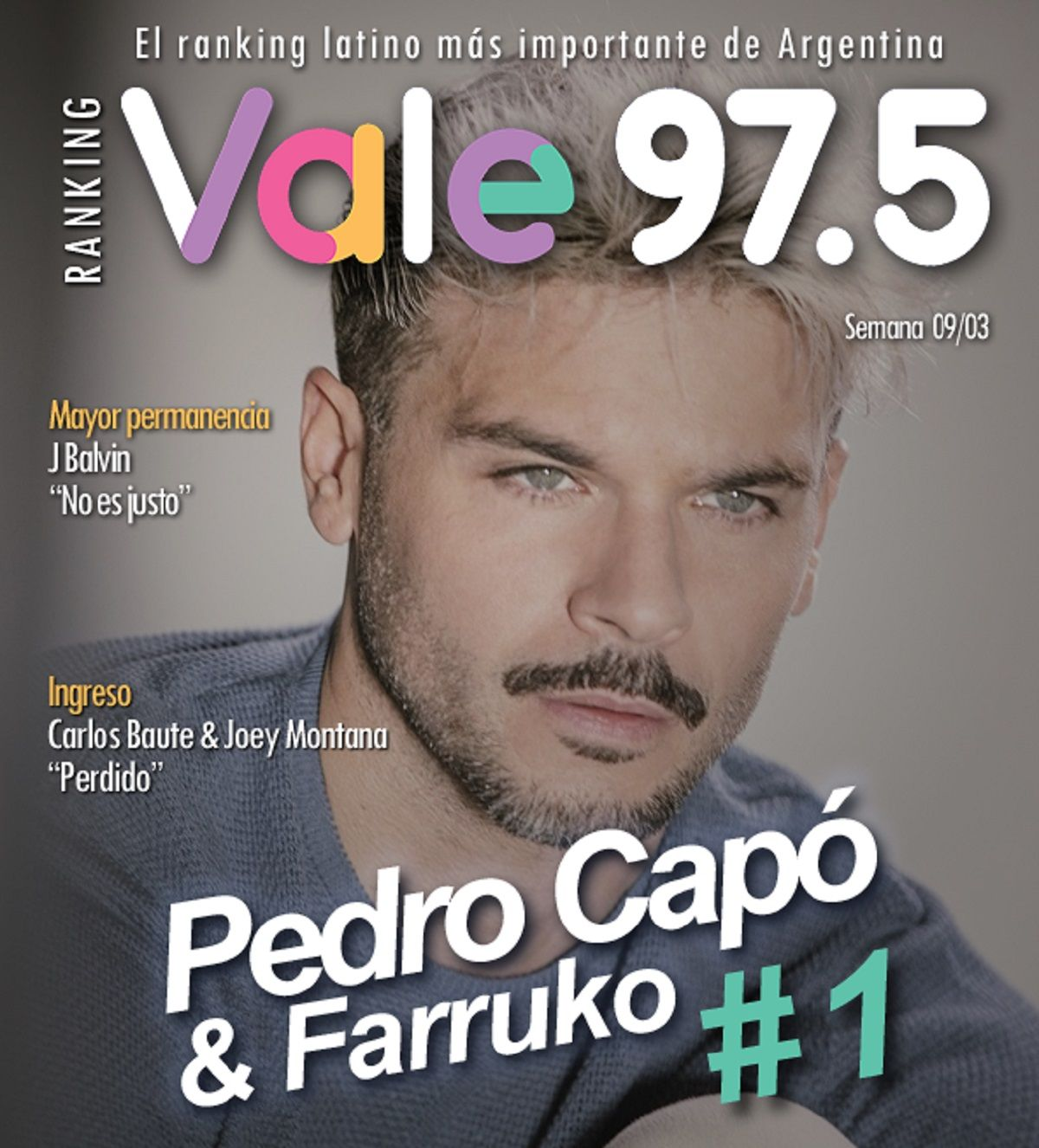Pedro Capó y Farruko, en la cima del Ranking Vale con Calma
