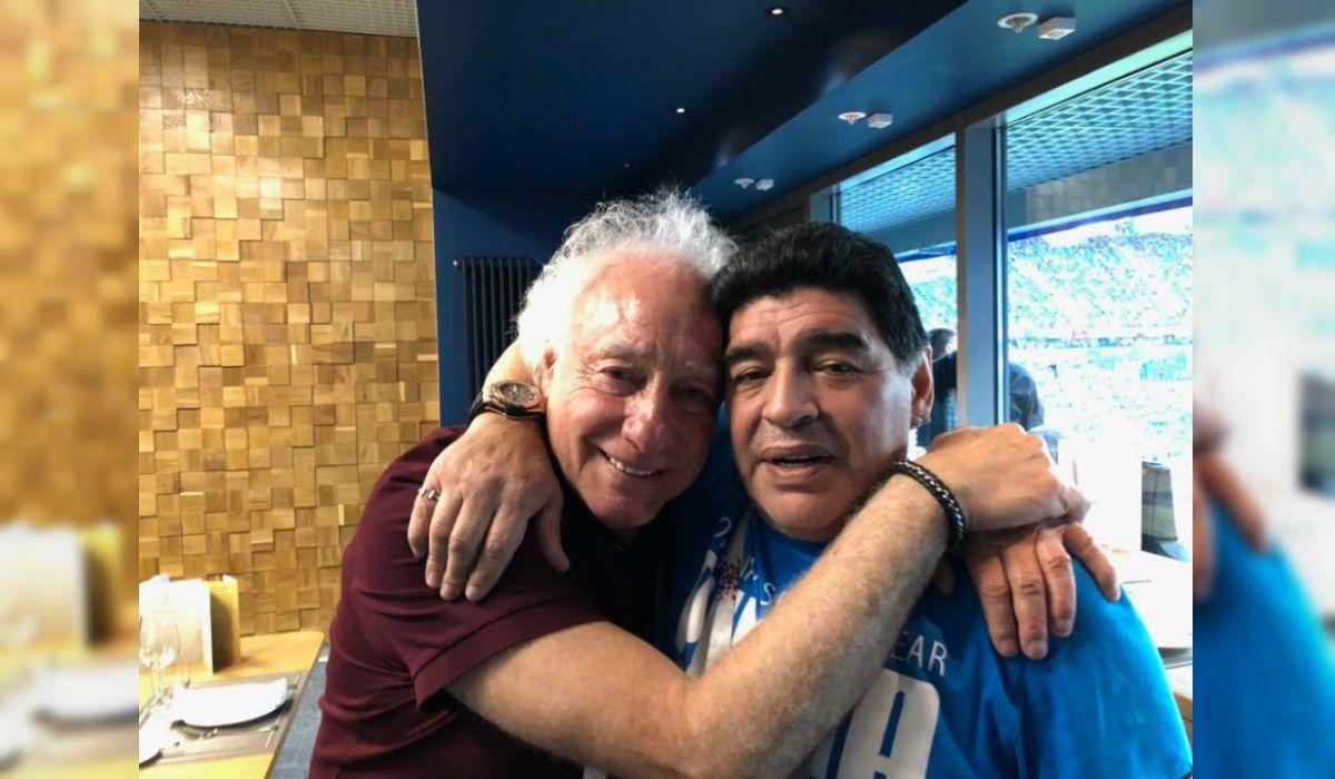 El encuentro entre Guillermo Coppola y Diego Maradona en Rusia
