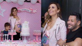 Las fotos del babyshower de Mariana Brey, embarazada de ocho meses