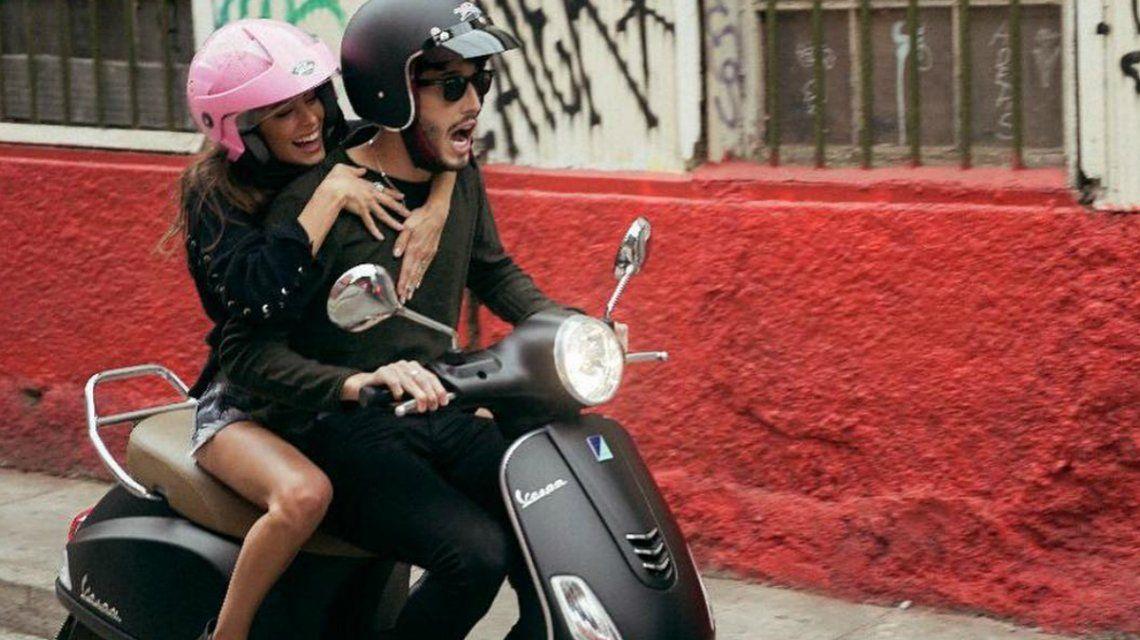 Así fue el accidente en moto de Tini Stoessel y Sebastián Yatra