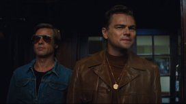 Furor por el primer tráiler de Once Upon a Time in Hollywood, con Leo DiCaprio y Brad Pitt