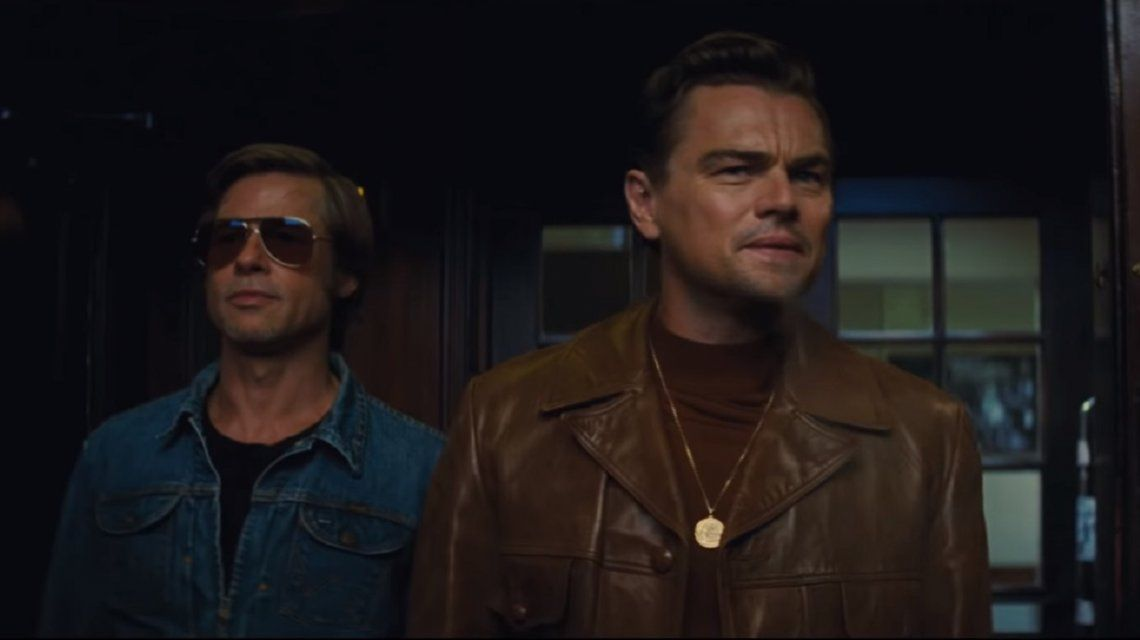Furor por el primer tráiler de Once Upon a Time in Hollywood con Leonardo DiCaprio y Brad Pitt