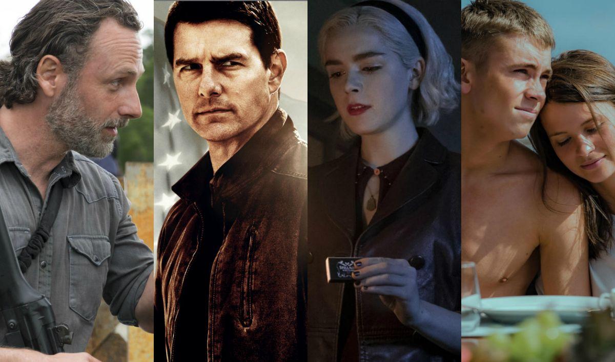 The Walking Dead, Legion y Sabrina entre los estrenos de abril el Netflix