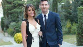 El intruso que le arruinó la foto romántica a Messi y Antonela