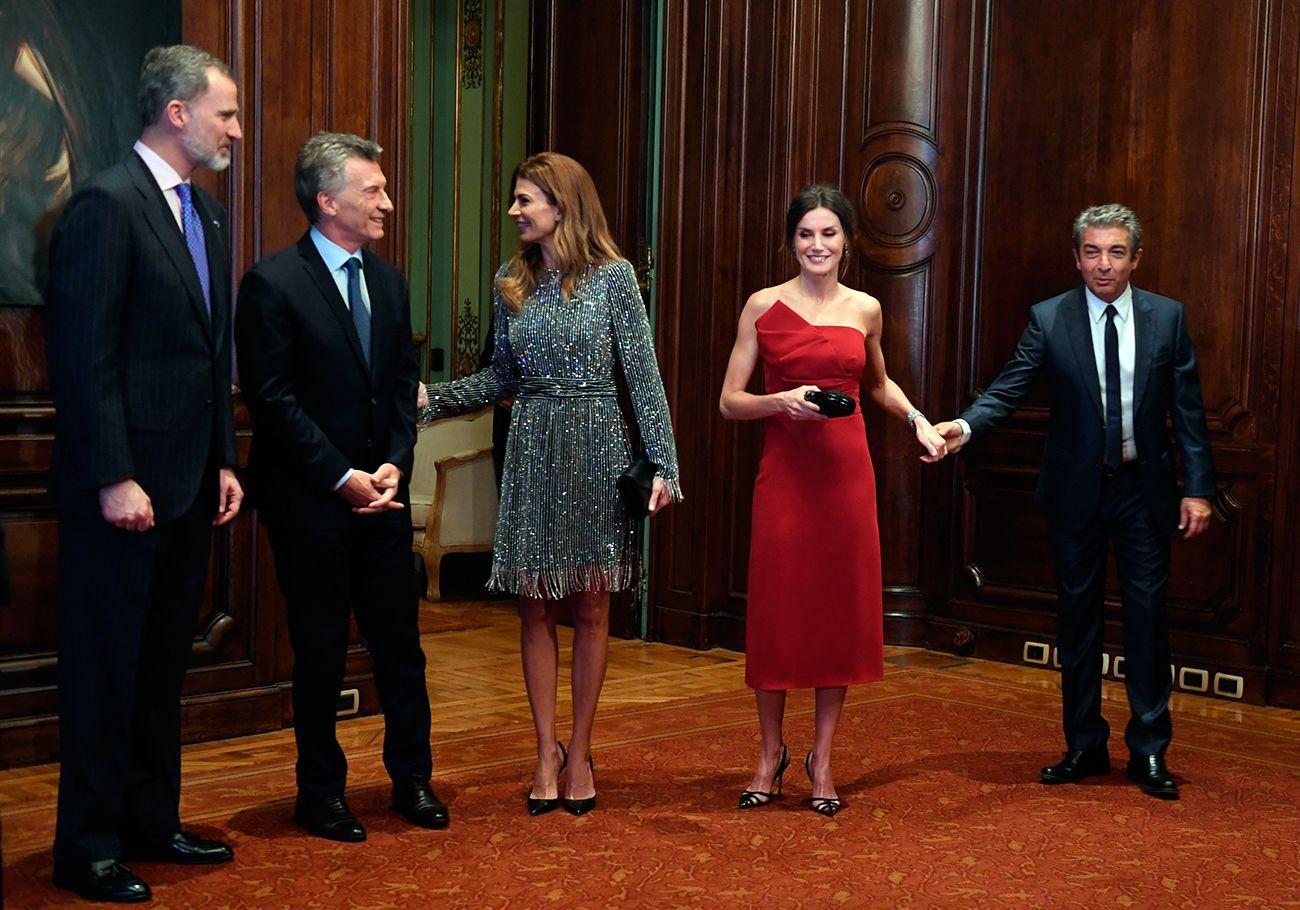 Las fotos de Mirtha, Susana y Darín, los invitados de lujo a la gala de los reyes de España