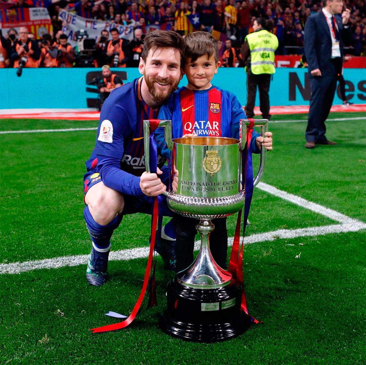 La pregunta de Thiago a Lionel Messi: ¿Por qué te matan en Argentina? ¿Por qué vas a la Selección?