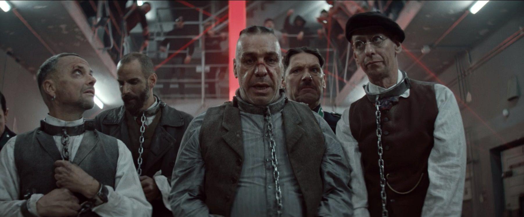 Indignación por un videoclip de Rammstein con fuertes imágenes sobre el nazismo