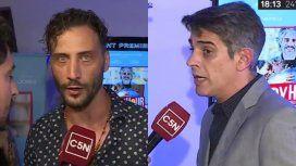 Luciano Cáceres y Pablo Echarri expresaron su solidaridad con los trabajadores de C5N
