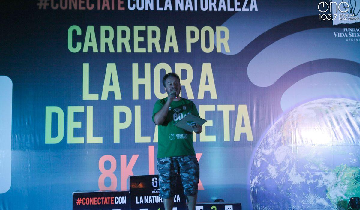 Radio One participó en la carrera por La Hora del Planeta