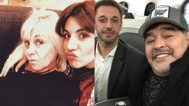 Gianinna rompió el silencio sobre Diego Maradona: adicciones