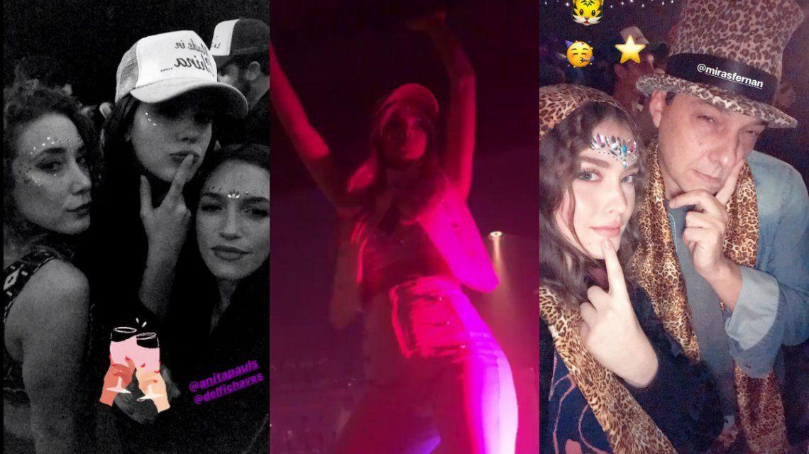 El divertido cumpleaños de la China Suárez con Benjamín Vicuña y sus compañeros de ATAV