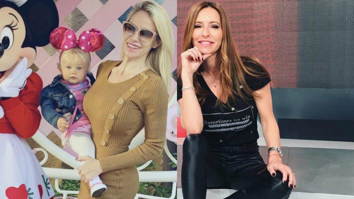 Tremendo cruce entre Luciana Salazar y Analía Franchin por Matilda