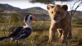 Con Timón y Pumba cantando, se estrenó otro espectacular tráiler de El Rey León