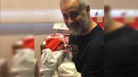 El emotivo video de Jorge Rial a dos semanas del nacimiento desu nieto