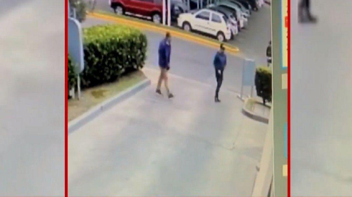 VIDEO: Así fue el violento robo a Hernán Piquín en Pilar
