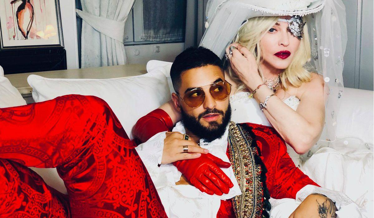Madonna y Maluma estrenaron Medellín