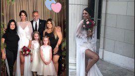 Las fotos más especiales del casamiento de Jorge Rial y Romina Pereiro