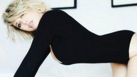 Wanda Nara se cayó bailando tango en la TV italiana