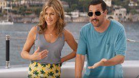Vuelve la desopilante dupla de Jennifer Aniston y Adam Sandler