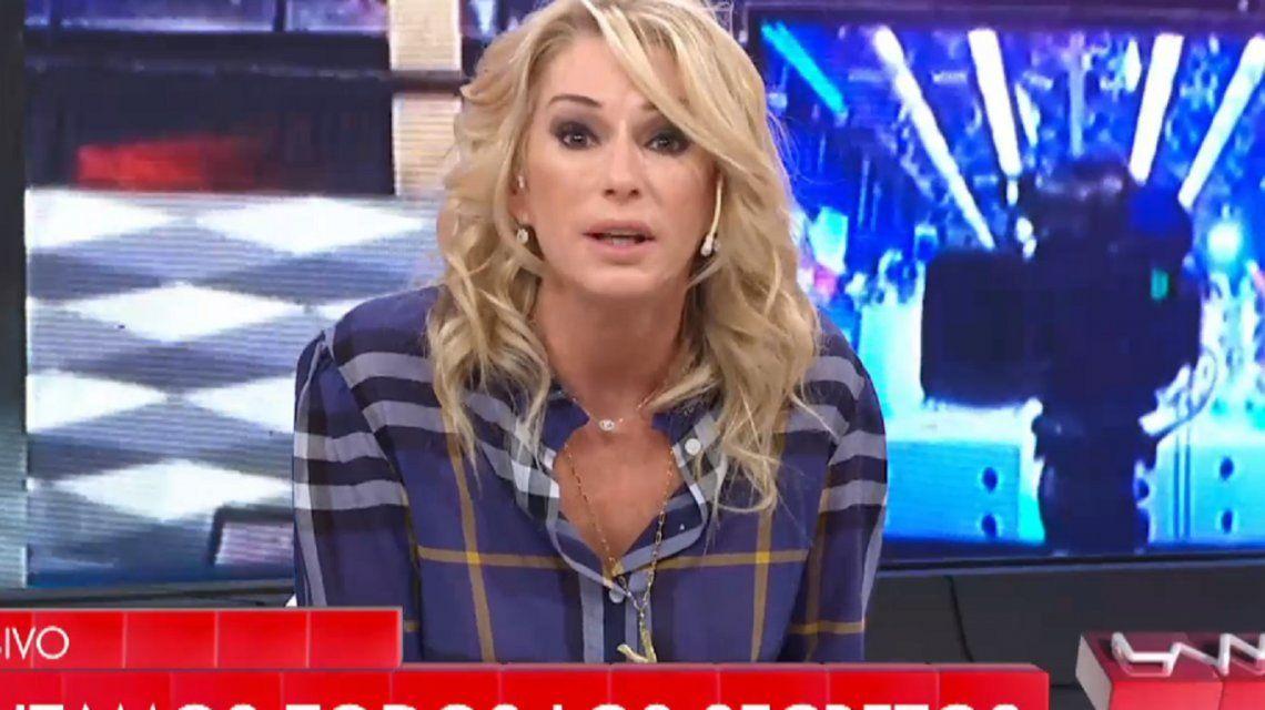Yanina Latorre, sacada contra Rial y mirando a cámara: ¡Eso es de forr... y cag...!