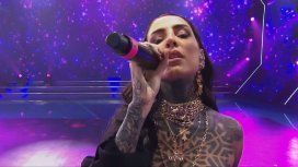 VIDEO: Cande Tinelli volvió a brillar como cantante en la apertura de ShowMatch