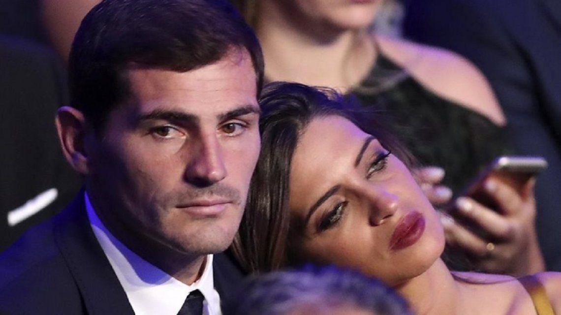 Sara Carbonero llevó tranquilidad por la salud de Iker Casillas: Todo quedó en un susto