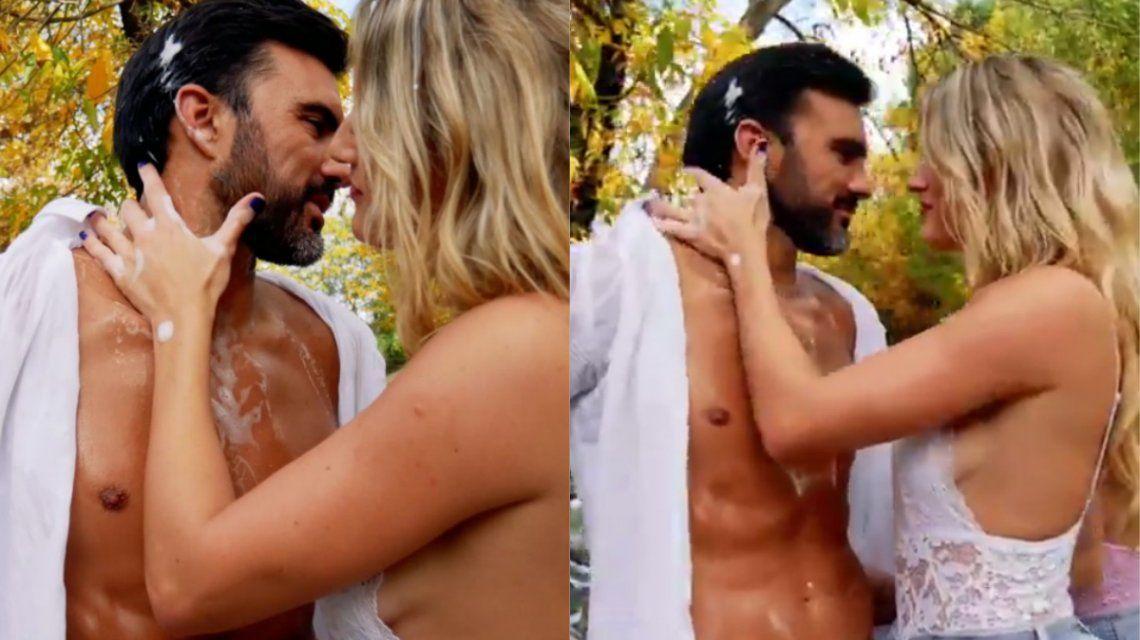 El adelanto del video hot de Mica Viciconte y Fabián Cubero al ritmo de Punto G