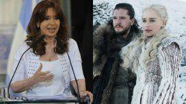 En 2013, Cristina Kirchner anticipó el final de Game of Thrones