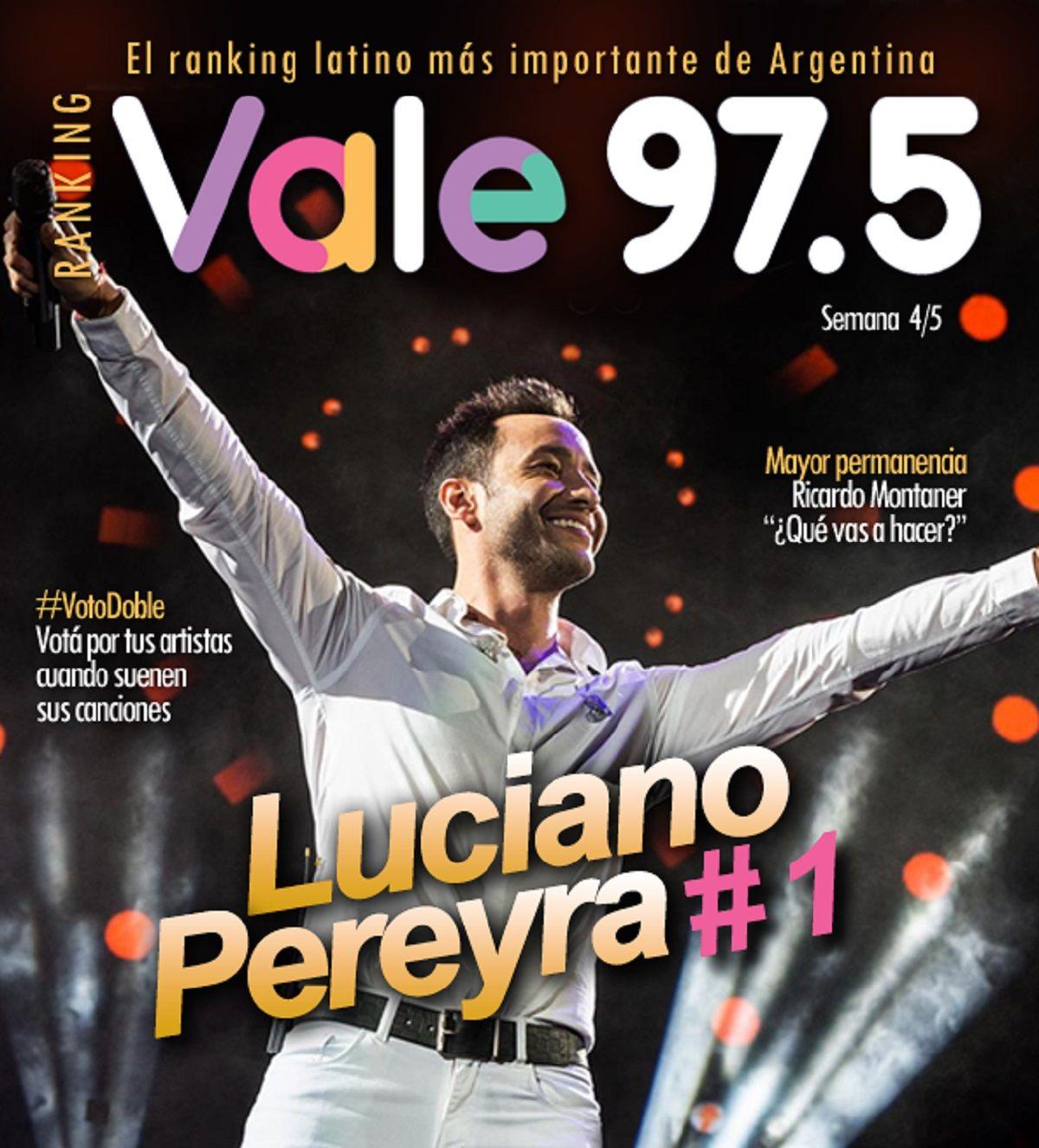 Luciano Pereyra, en lo más alto del Ranking Vale