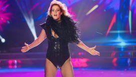 El fallido debut de Leticia Brédice en el Bailando con un cero de Polino
