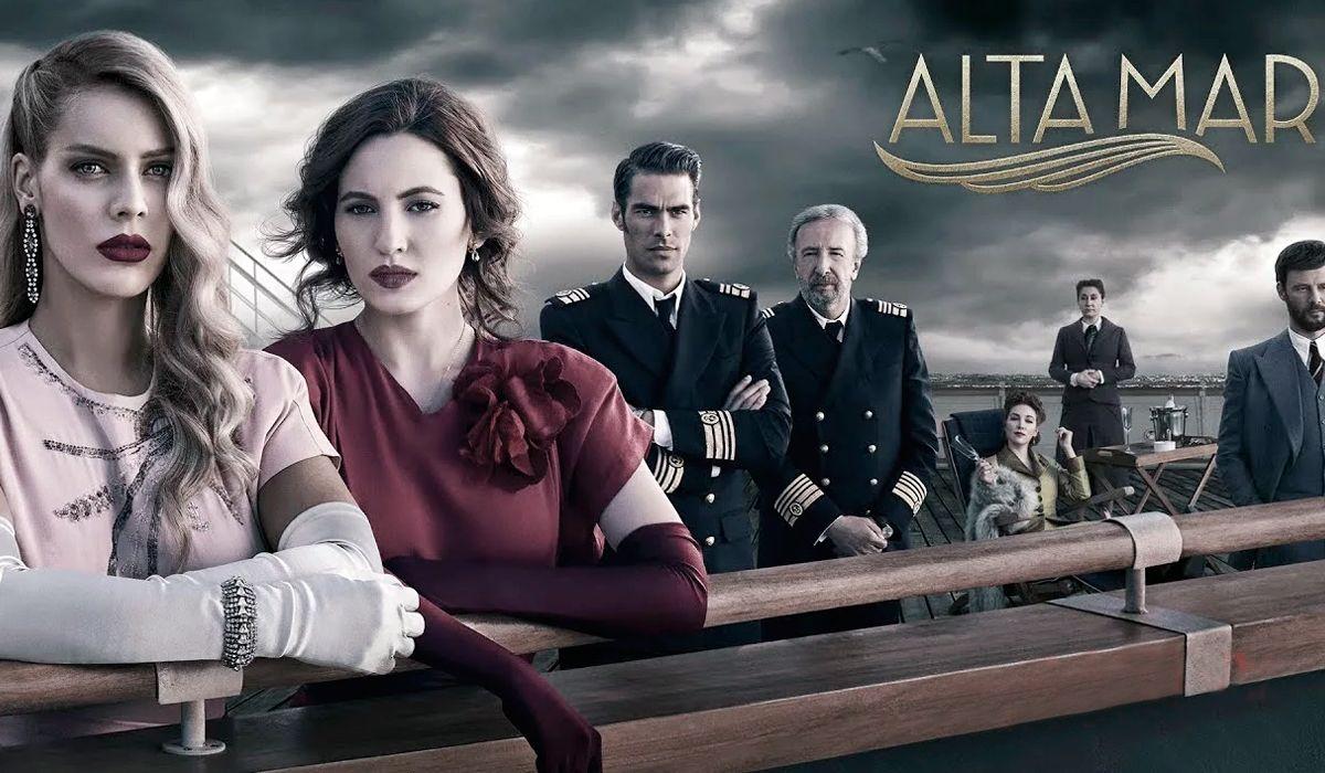 Así fue la lujosa presentación de Alta Mar, la nueva serie de Netflix