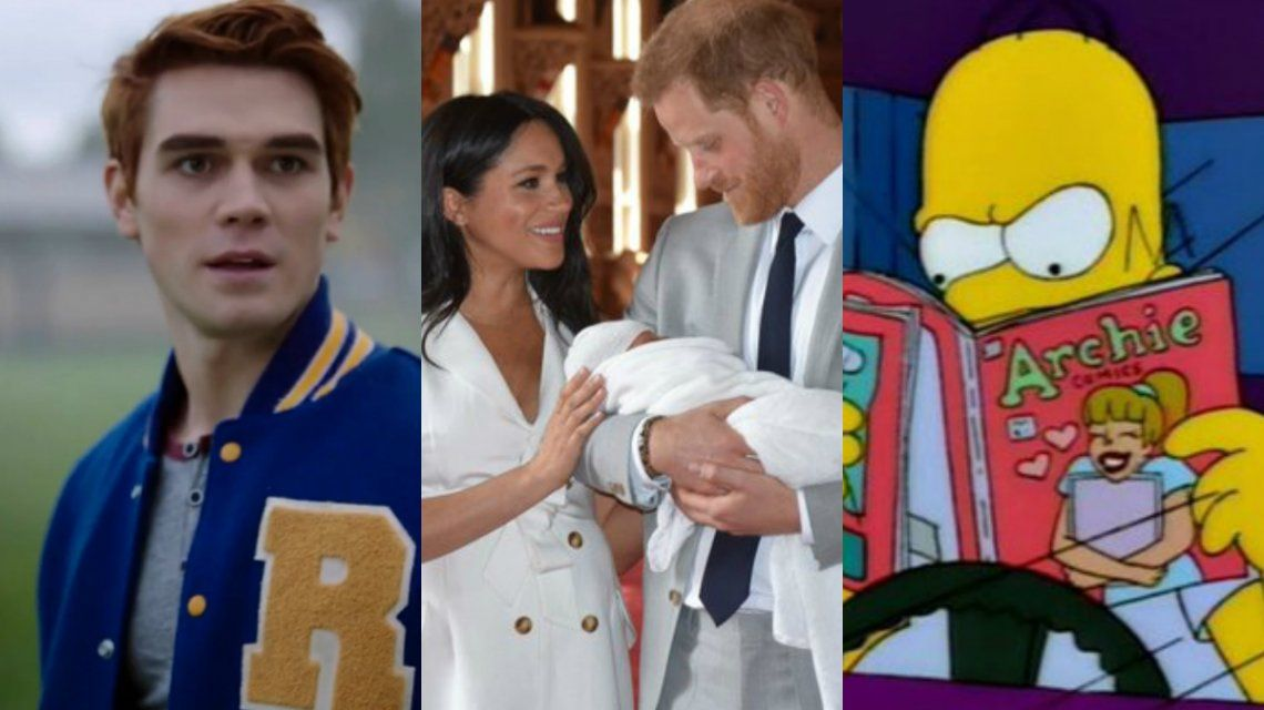 Los memes por Archie, el nombre del hijo del príncipe Harry y Meghan Markle