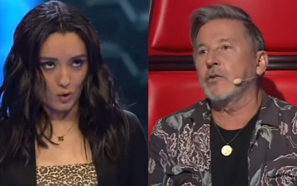 Ricardo Montaner trató de creída a una participante de La Voz y la rechazó en su equipo