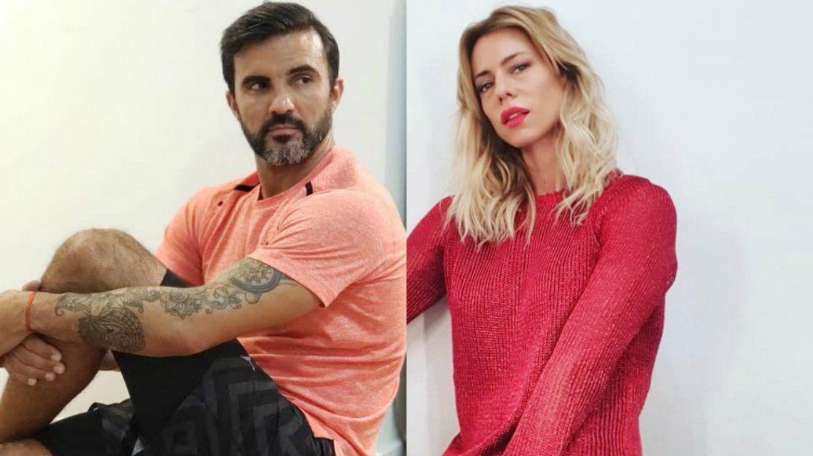 La insólita mojada de oreja de Cubero a Nicole Neumann en medio del bozal legal
