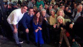 Los famosos que acompañaron a Cristina en la presentación de Sinceramente