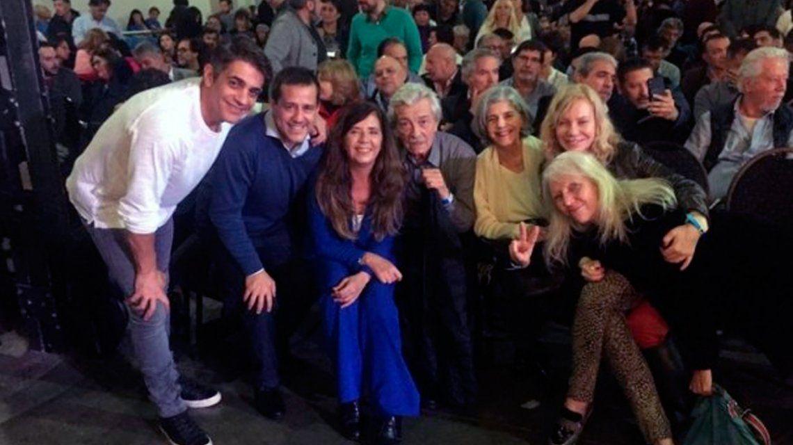 Los famosos que acompañaron a Cristina Kirchner en la presentación de Sinceramente en la Feria del Libro