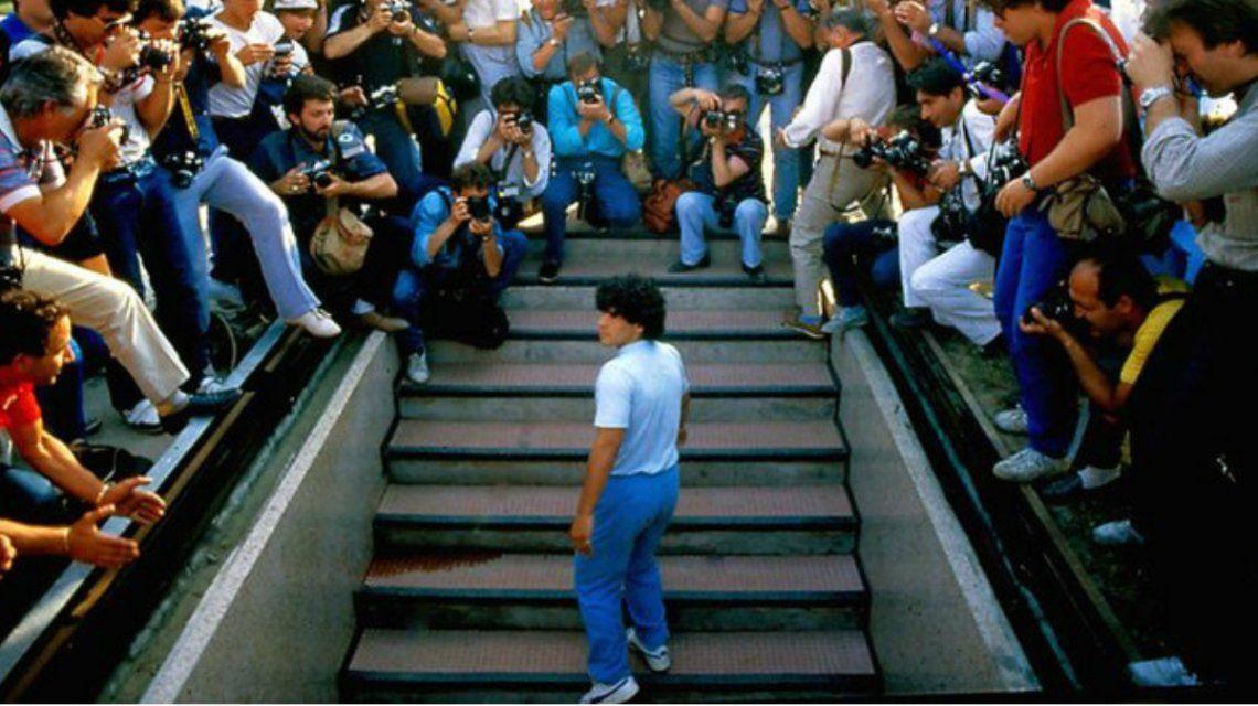 Rebelde, héroe, estafador, Dios: el primer tráiler de la película de Diego Maradona