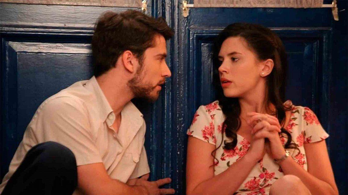 Delfina Chaves tuvo que explicar de qué se trataba el video del beso con Albert Baró