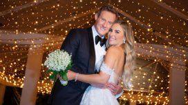 El ex de Meghan Markle se casó con una nutricionista y el menú fue hamburguesas con papas