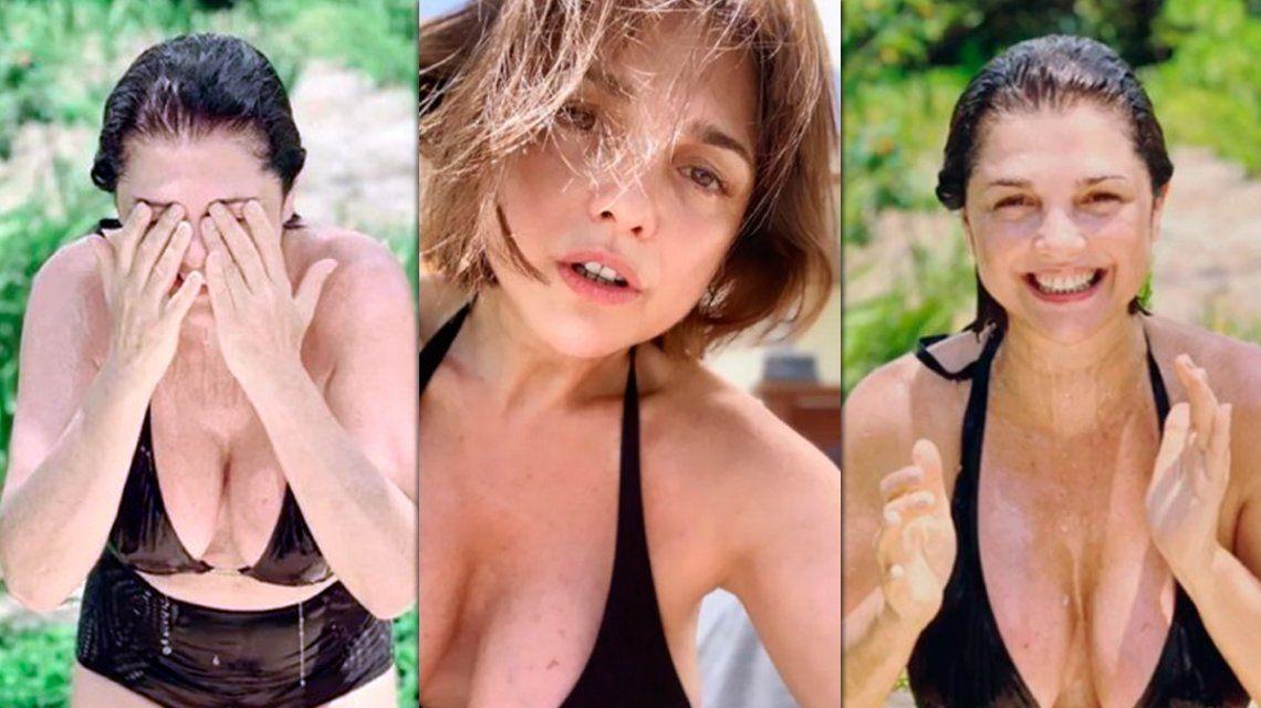 Sexy y al natural: las mejores fotos de Araceli González en la Riviera Maya