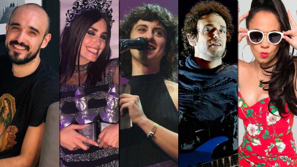 Premios Gardel: todos los ganadores de la noche de la música argentina