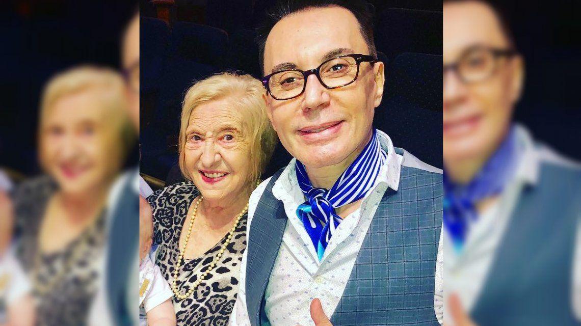 El apoyo del mundo del espectáculo a Marcelo Polino tras la muerte de su mamá
