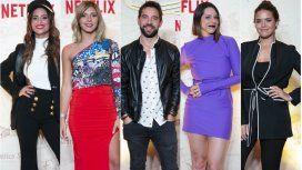 Los looks de los famosos en la presentación de Alta Mar, la nueva serie de Netflix